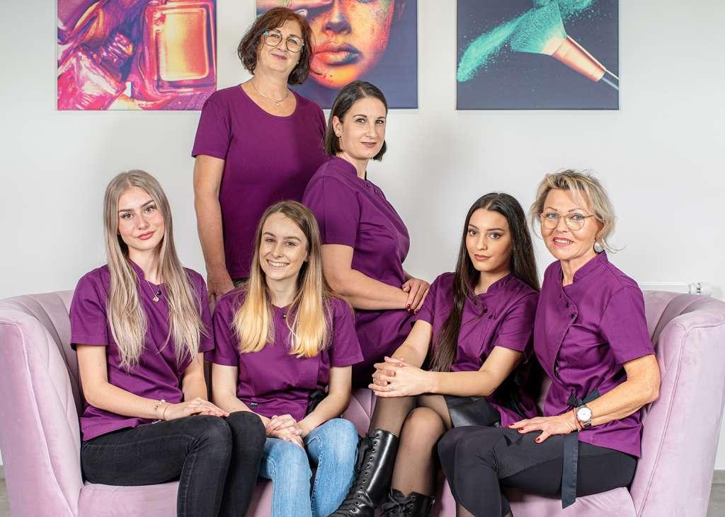 Gruppenfoto Nohel Kosmetikstudio Linz